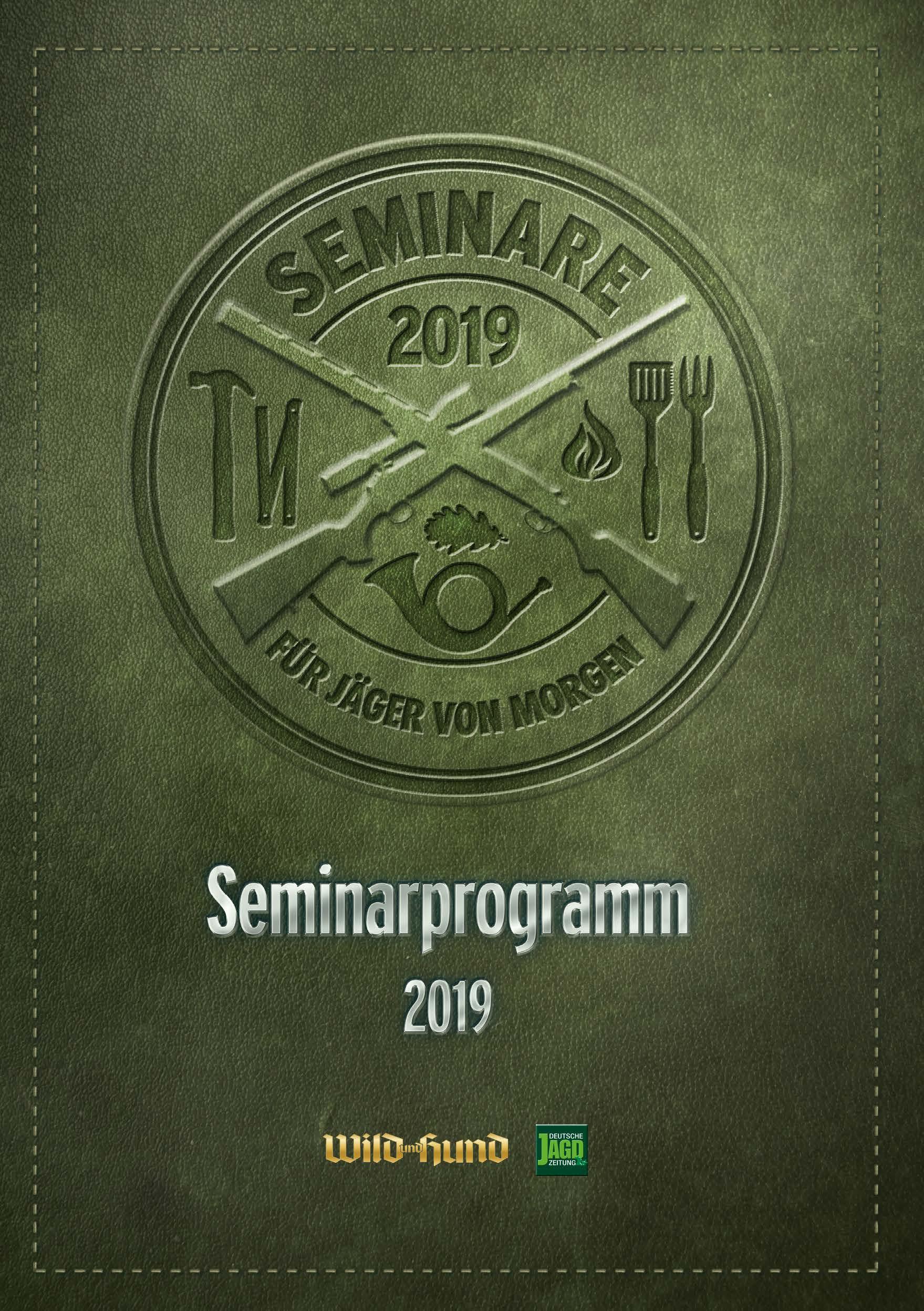 Seminare der Deutschen AJgdzeitung in der Broschüre