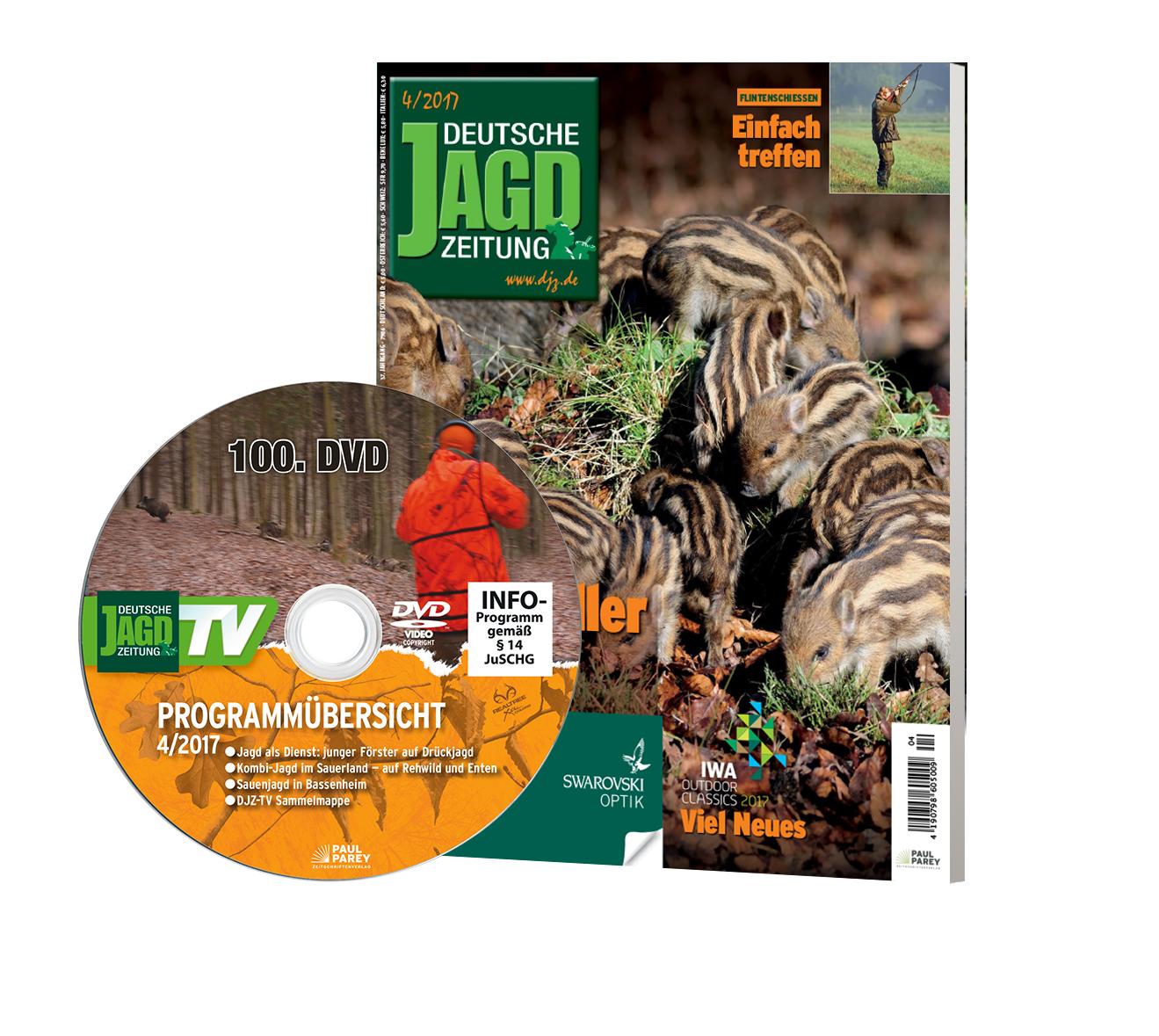 DJZ Ausgabe April 2017 mit DVD