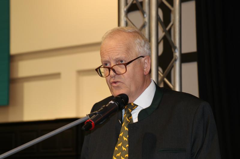 Dr. Volker Böhning auf dem Landesjägertag 2017