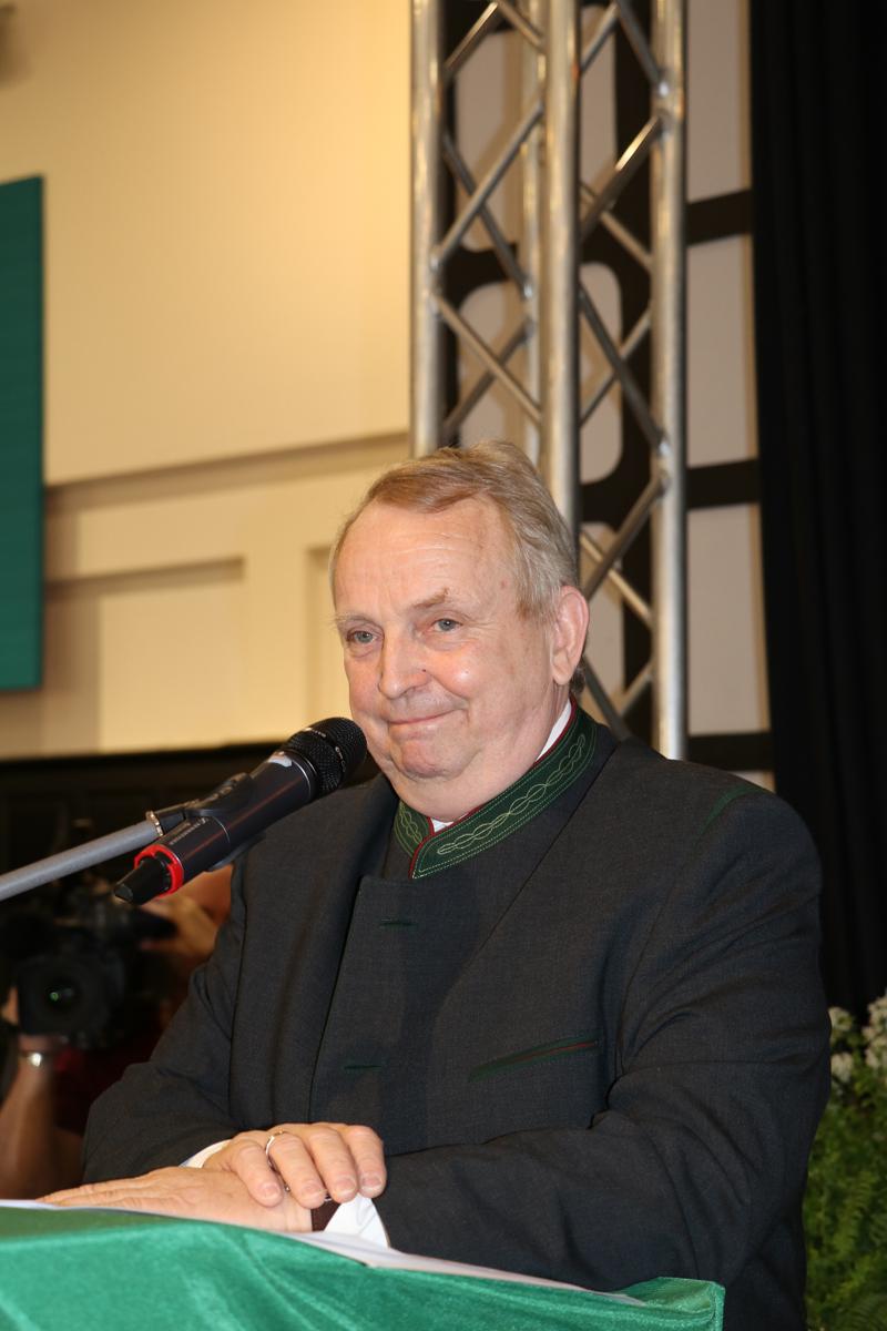 Dr. Till Backhaus auf dem Landesjägertag 2017