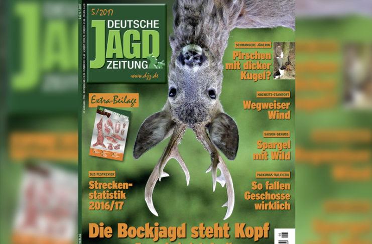Bock auf der DJZ Mai Ausgabe steht Kopf