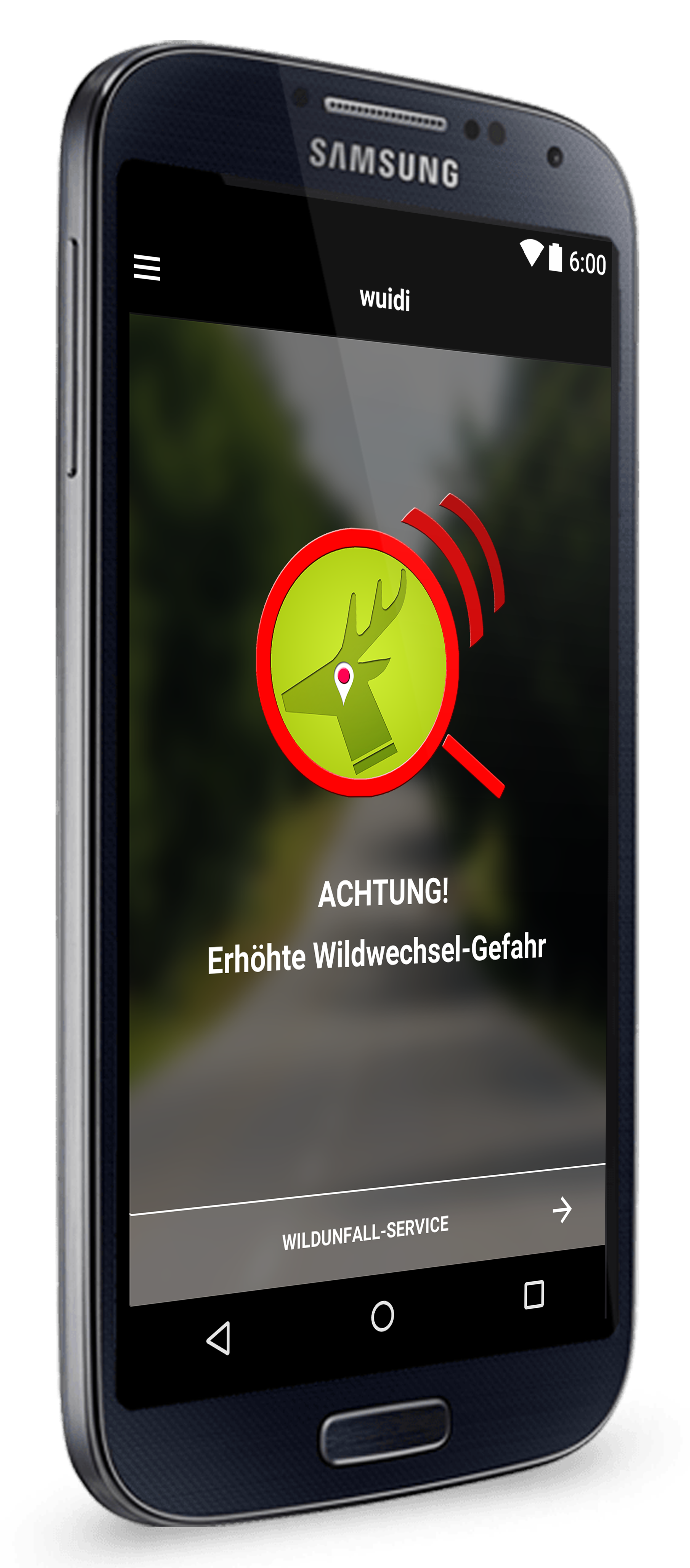 wuidi wildwechel warn app