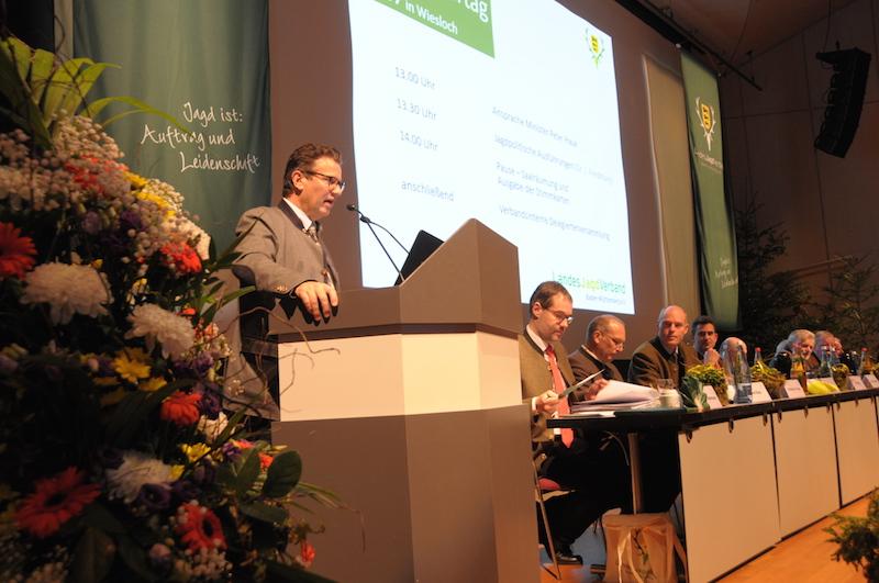 Minister für Landwirtschaft und Verbraucherschutz Peter Hauk