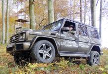 Mercedes G 500 im DJZ Test