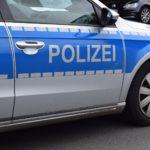 Polizeiwagen von der Seite