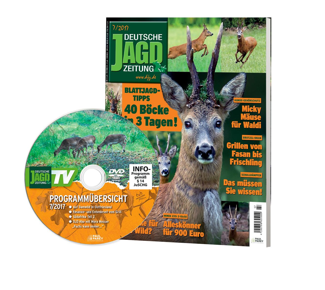 Juliausgabe der Detschen Jagdzeitung