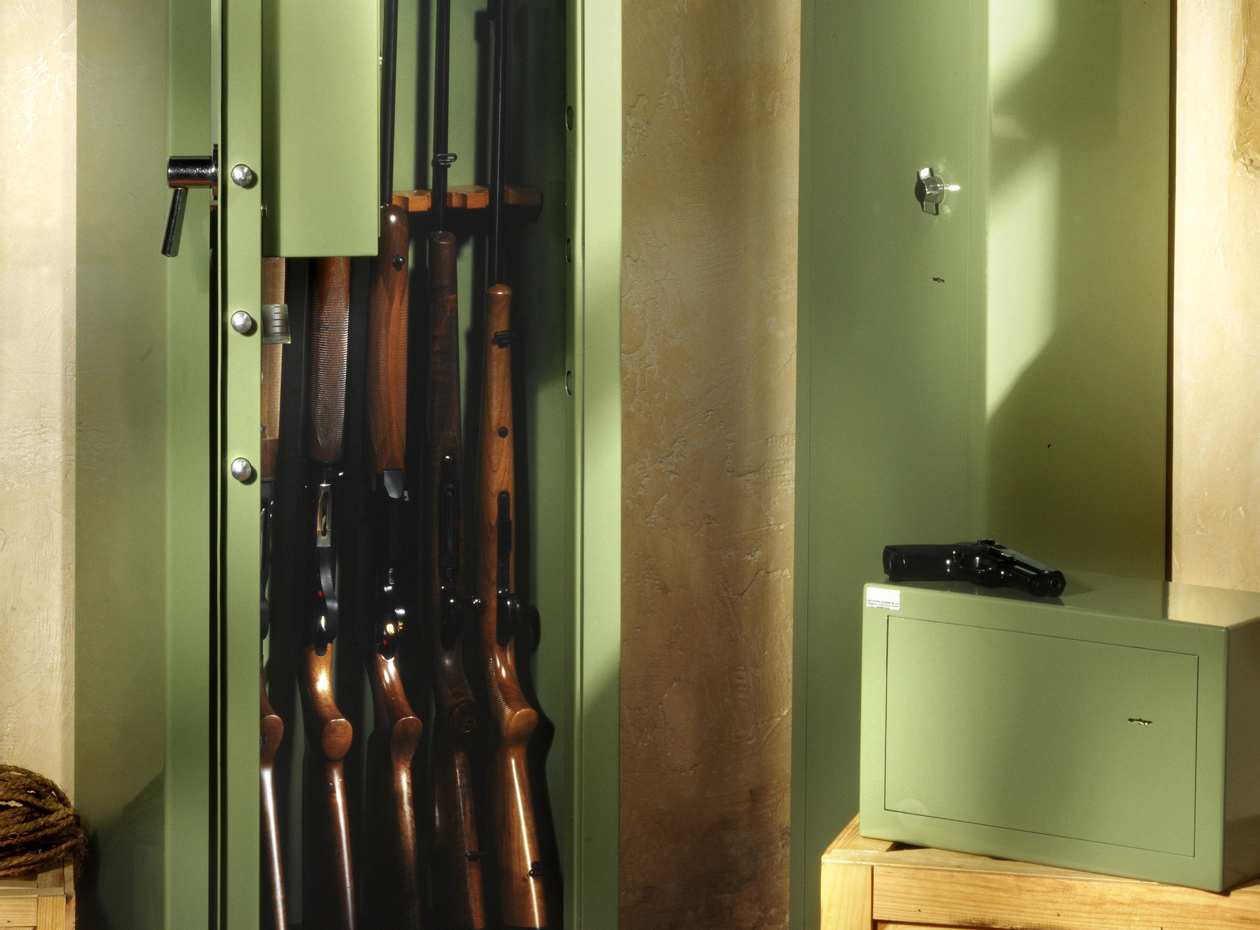 Neue Regeln zur Waffenaufbewahrung