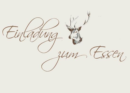 Einladung Zum Weihnachtsessen - Vorlagen