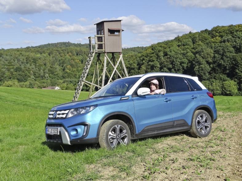 Suzuki Vitara 16 Ddis 4x4 Auf Disco Pirsch Deutsche Jagdzeitung